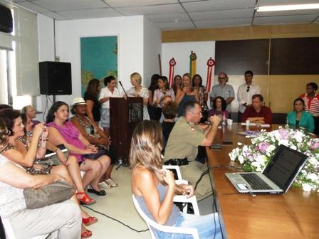 Mulheres marcaram presença no lançamento do documento